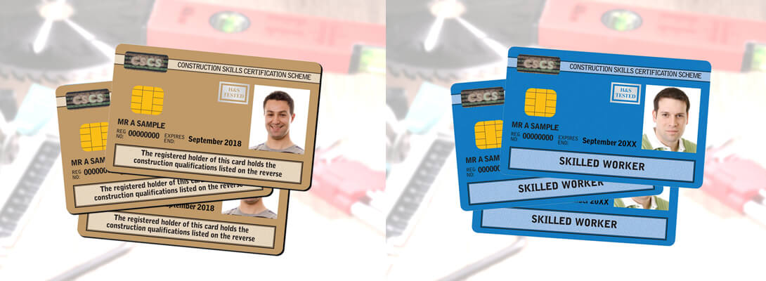 CSCS Blue and Gold Card