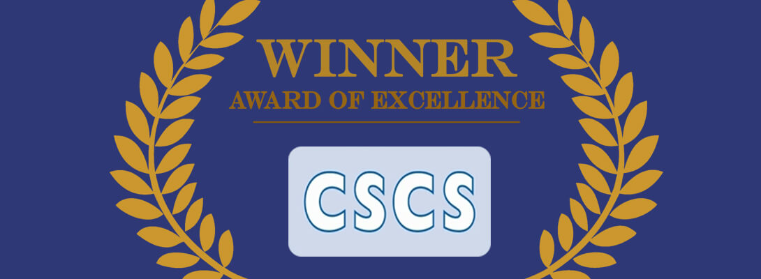 CSCS Certificate Mark of Excellence