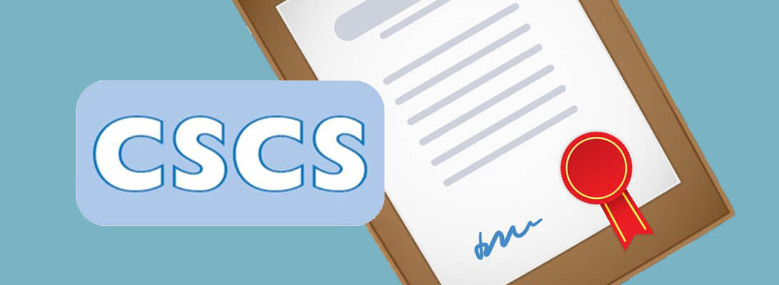 Own Cscs Certificate And Work Peacefully