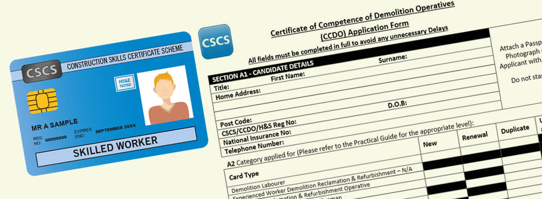 CSCS Application Form & CSCS Card An Overview