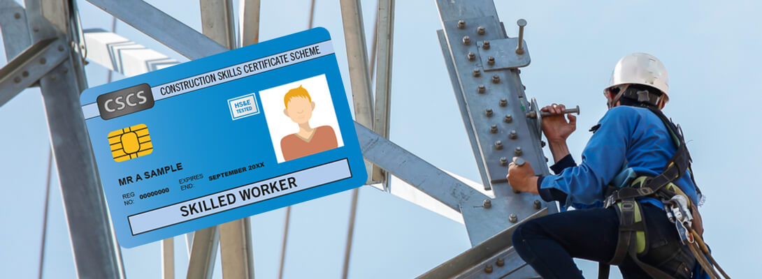 CSCS Card Evidence of High Skill and Competence