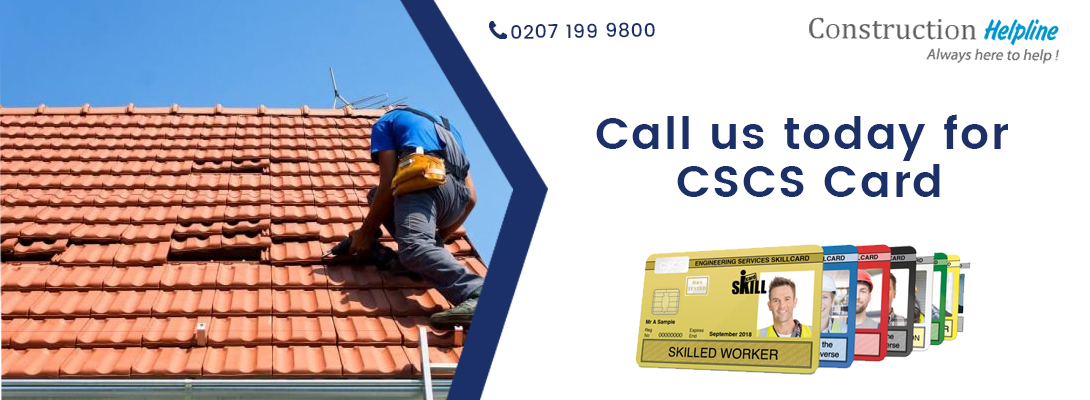 Apply for Roofer CSCS Card