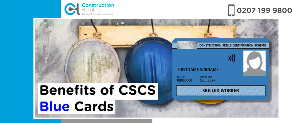 Benefits of CSCS Blue Cards