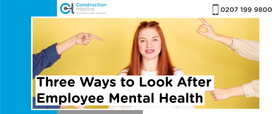 mental health, construction, employees